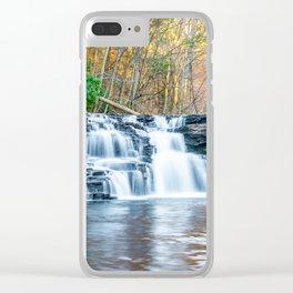 Fall Falls Clear iPhone Case
