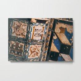 Moorish tiles Metal Print