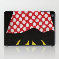 minnie mouse iPad Cases featuring minnie mouse minimal grunge... by studiomarshallarts
