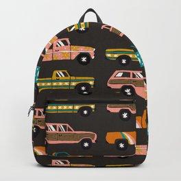 Retro Roads – Charcoal Backpack