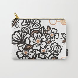 The Bee's Knees Carry-All Pouch