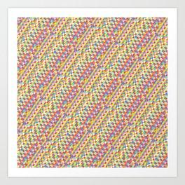 color tiles Art Print