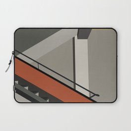 Stairway in bauhaus Dessau Laptop Sleeve
