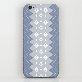 Zig Zags in Gray iPhone Skin