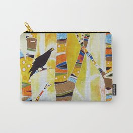 Raven Hanging the Sun Carry-All Pouch