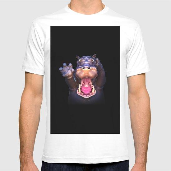 Animal Portraits - Hippopotamus T-shirt