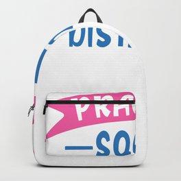 Coronavirus Pandemic Practice Social Distancing Backpack