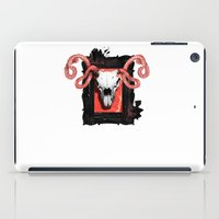 vegetarian iPad Cases featuring VEGETARIAN PAINTING by 13 DESIGN