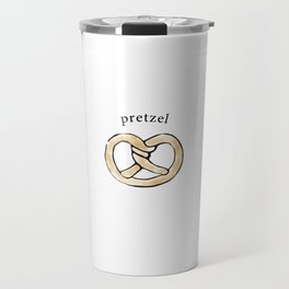 Pretzel Travel Mug