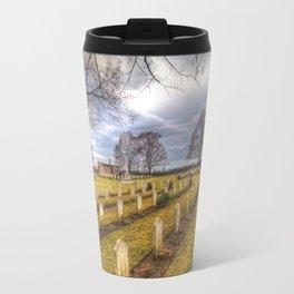 World War 2 War Graves Budapest Travel Mug