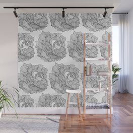 Simply the rose Wall Mural