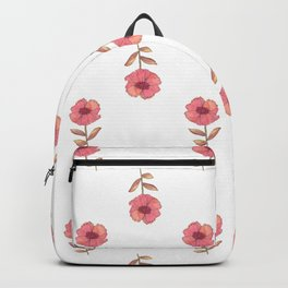 a flower is a flower is Backpack