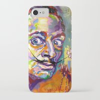 salvador dali iPhone & iPod Cases featuring salvador dali by yossikotler