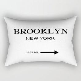 Brooklyn - New York Rectangular Pillow