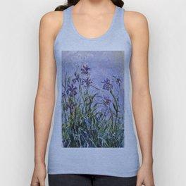 Claude Monet - Iris Jaune Unisex Tanktop