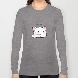 Purrring Kawaii Kitten MEOW! =(^_^)= Long Sleeve T-shirt