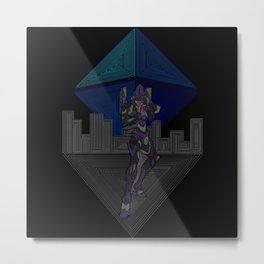 Ramiel's Assault  Metal Print