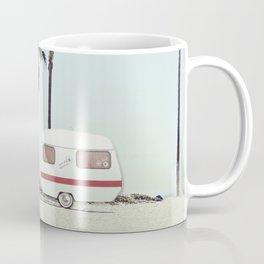 NEVER STOP EXPLORING - CAMPING PALM BEACH Coffee Mug