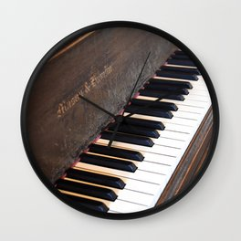 Mason & Hamlin Piano Wall Clock
