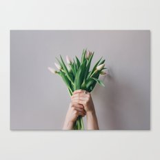 Yay Tulips! Canvas Print