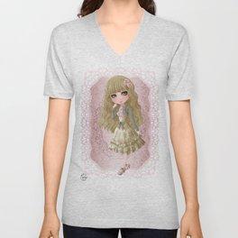 Classic Lolita Unisex V-Neck