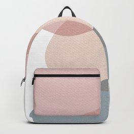 Pebbles Pink Grey Backpack