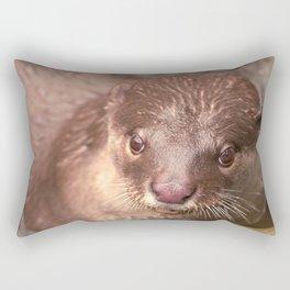 Smooth Coated Otter  Rectangular Pillow