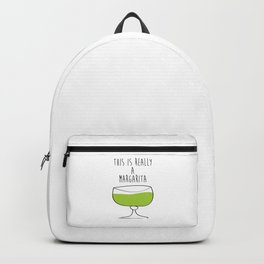 This Is Really A Margarita Backpack
