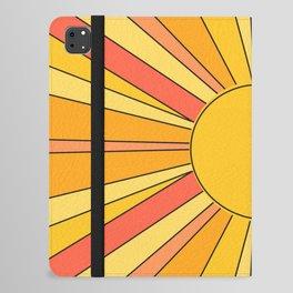 Sun rays iPad Folio Case