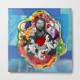 Sagrado Coração de Jesus (Sacred Heart) #2 Metal Print