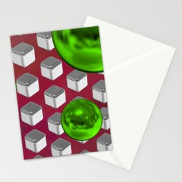 Green tech 3 Stationery Cards