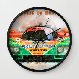 Winner Le Mans 1991 Wall Clock