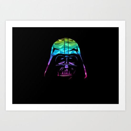 Darth Vader Art Art Print