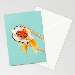 SUSHI GOLDFISH Stationery Cards