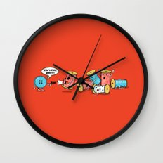 Who's Cute Now!? Wall Clock