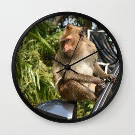 Koh Chang Monkey Wall Clock