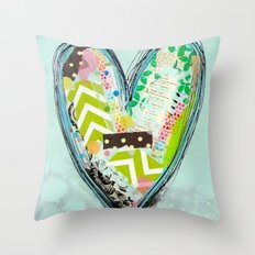 Do small things with great love. Throw Pillow