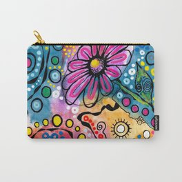 """Tie-Dye Wonderland"" Carry-All Pouch"