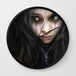 From the Shadows Wall Clock