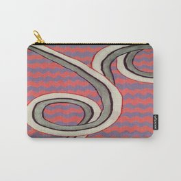 Zig Zag Swirl Carry-All Pouch