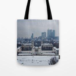 Greenwich Snow Tote Bag