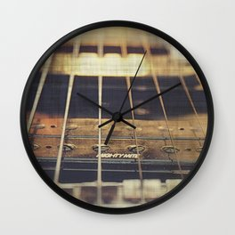 Therapy Session Guitar Wall Clock