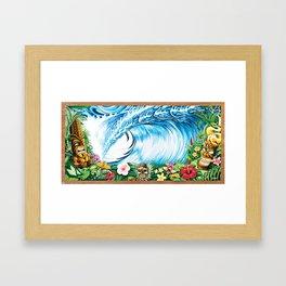 South Pacific Beast Framed Art Print