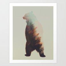 Norwegian Woods: Bear Art Print