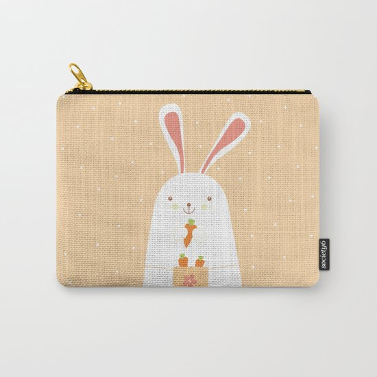 I promise nicely eat carrots. Carry-All Pouch