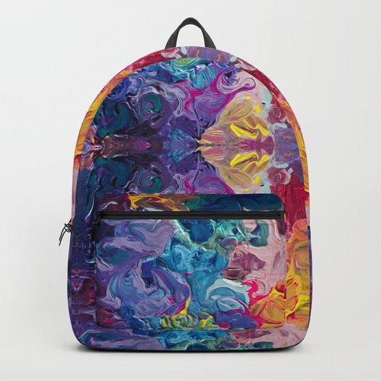 Aurora Swirls Backpack