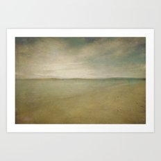 Down by the sea 5 Art Print