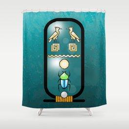 Egyptian Cartouche Shower Curtain