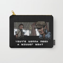 Smile You Son of a Pixel! Carry-All Pouch