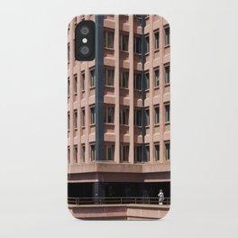 Urban loneliness iPhone Case